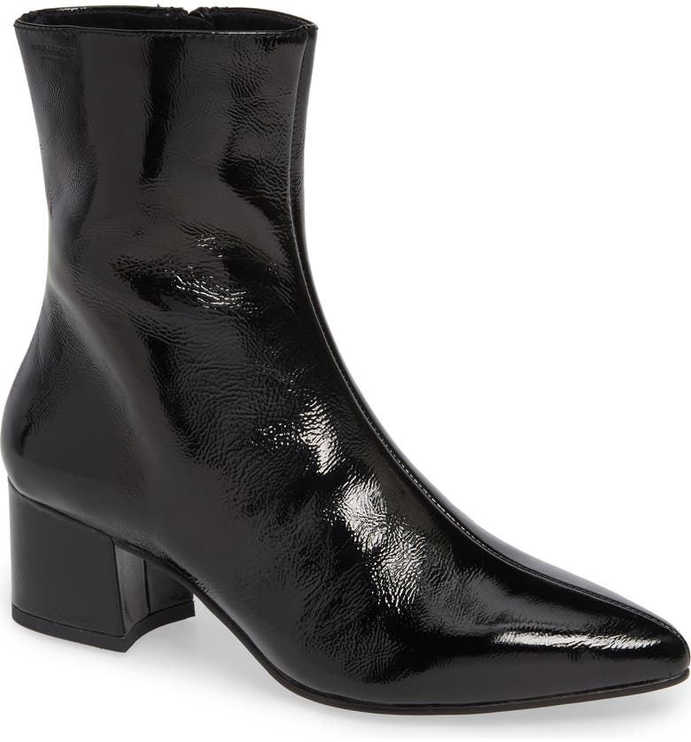 VAGABOND SHOEMAKERS Mya Pointy Toe Bootie, Main, color, BLACK LEATHER