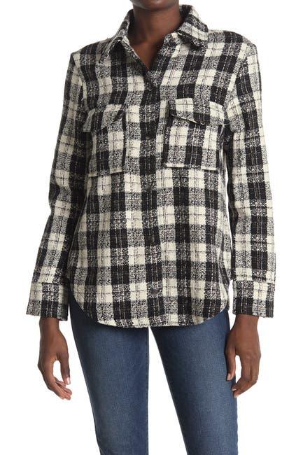 Image of BB Dakota Checkmate Plaid Collared Shirt