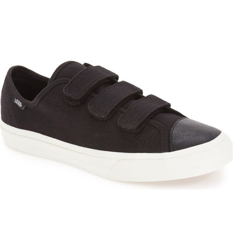 Vans Prison Issue Canvas Sneakers In Black V00SDJJTM