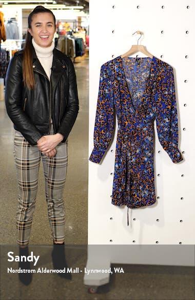 Laia Long Sleeve Wrap Dress, sales video thumbnail