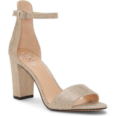 Vince Camuto Corlina Ankle Strap Sandal- Metallic (Nordstrom Exclusive)