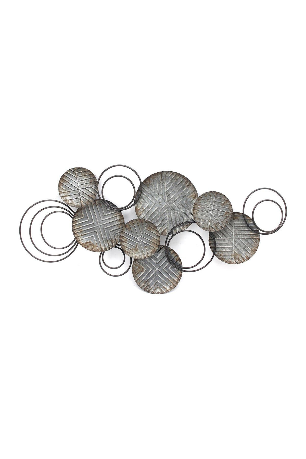 Image of Stratton Home Galvanized Plates Wall Decor