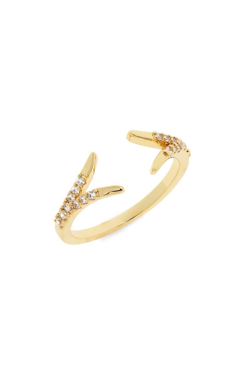 UNCOMMON JAMES BY KRISTIN CAVALLARI Caged Ring, Main, color, GOLD