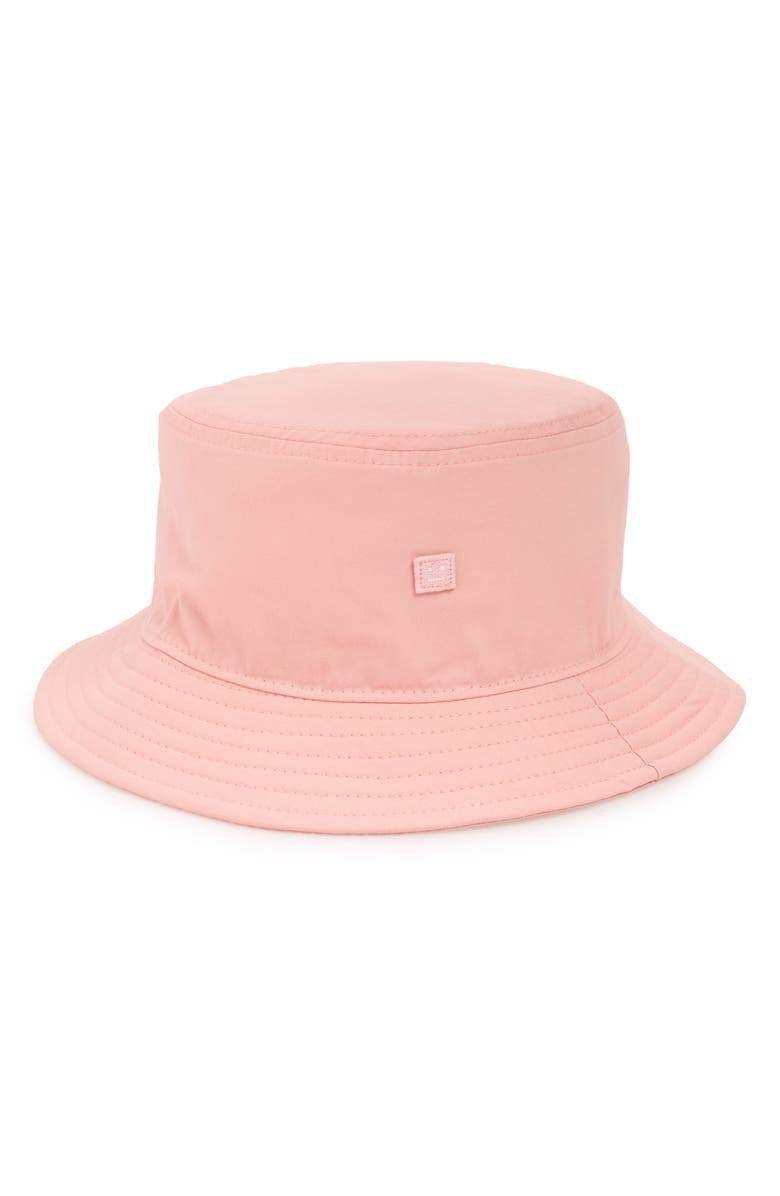 ACNE STUDIOS Buk Face Twill Bucket Hat, Main, color, BLUSH PINK