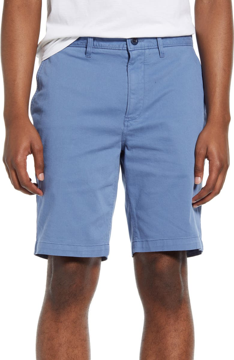 MADEWELL Chino Shorts, Main, color, RUSTIC OCEAN