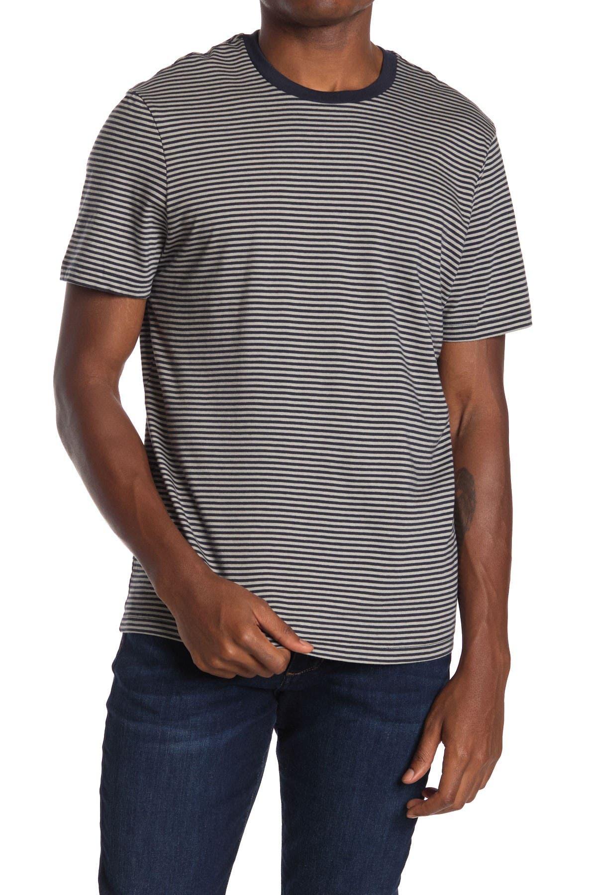 Image of Joe Fresh Striped Crew Neck T-Shirt