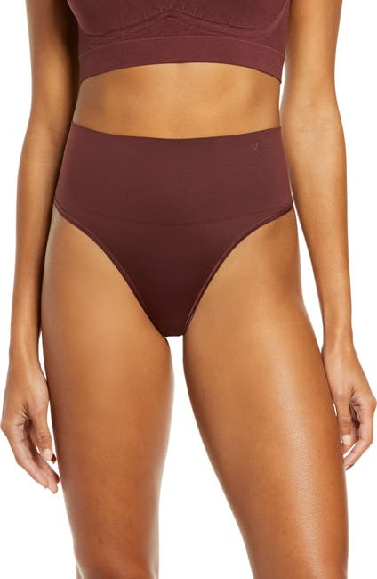 Image of Yummie by Heather Thomson Ultralight High Waist Seamless Shaping Thong