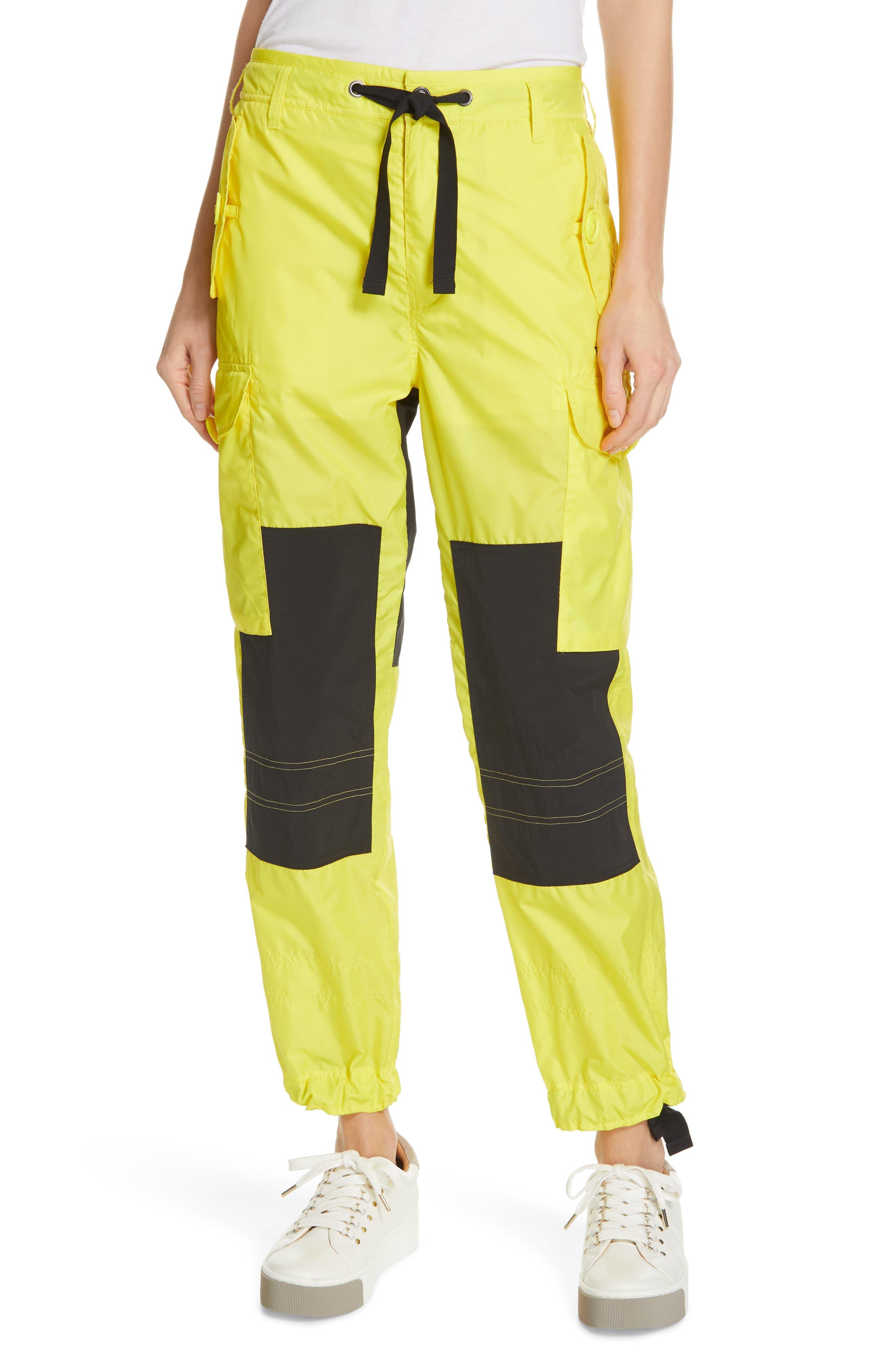Polo Ralph Lauren Colorblock Cargo Pants, Yellow