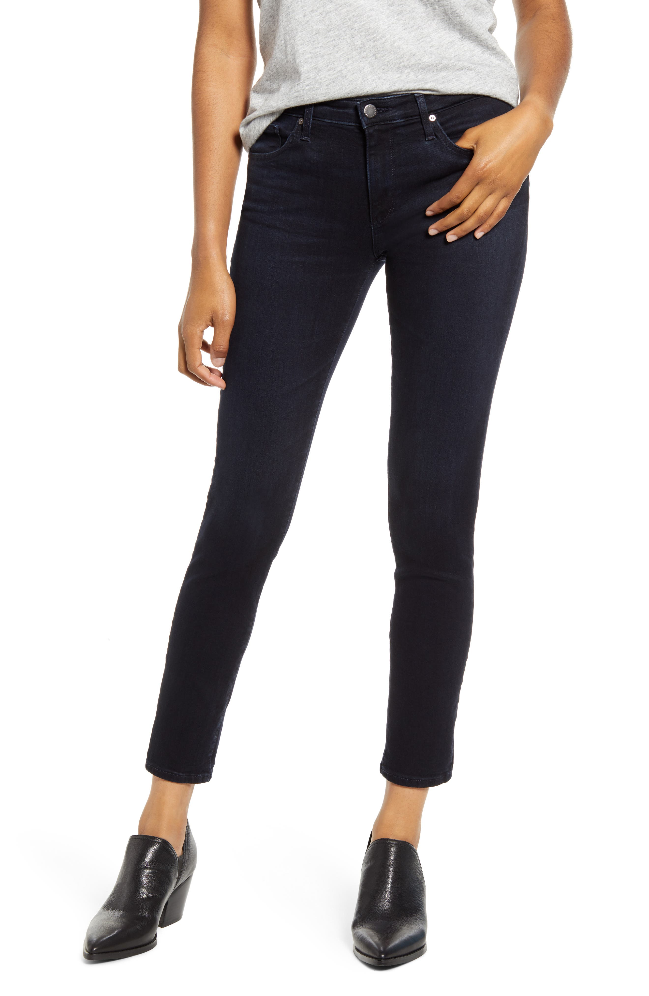 AG The Prima Ankle Cigarette Jeans (05 Year Blue Essence)