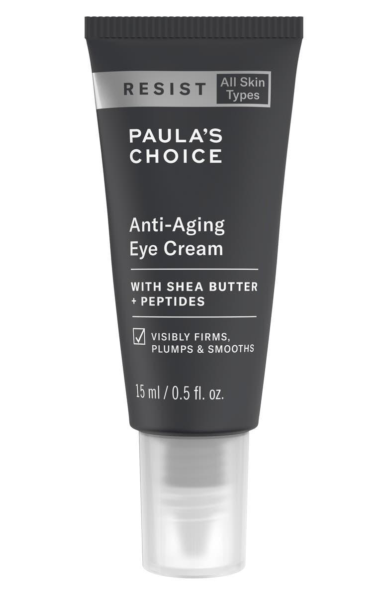 PAULA'S CHOICE Resist Anti-Aging Eye Cream, Main, color, NO COLOR