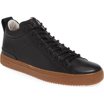 Blackstone Mid Top Sneaker, Black