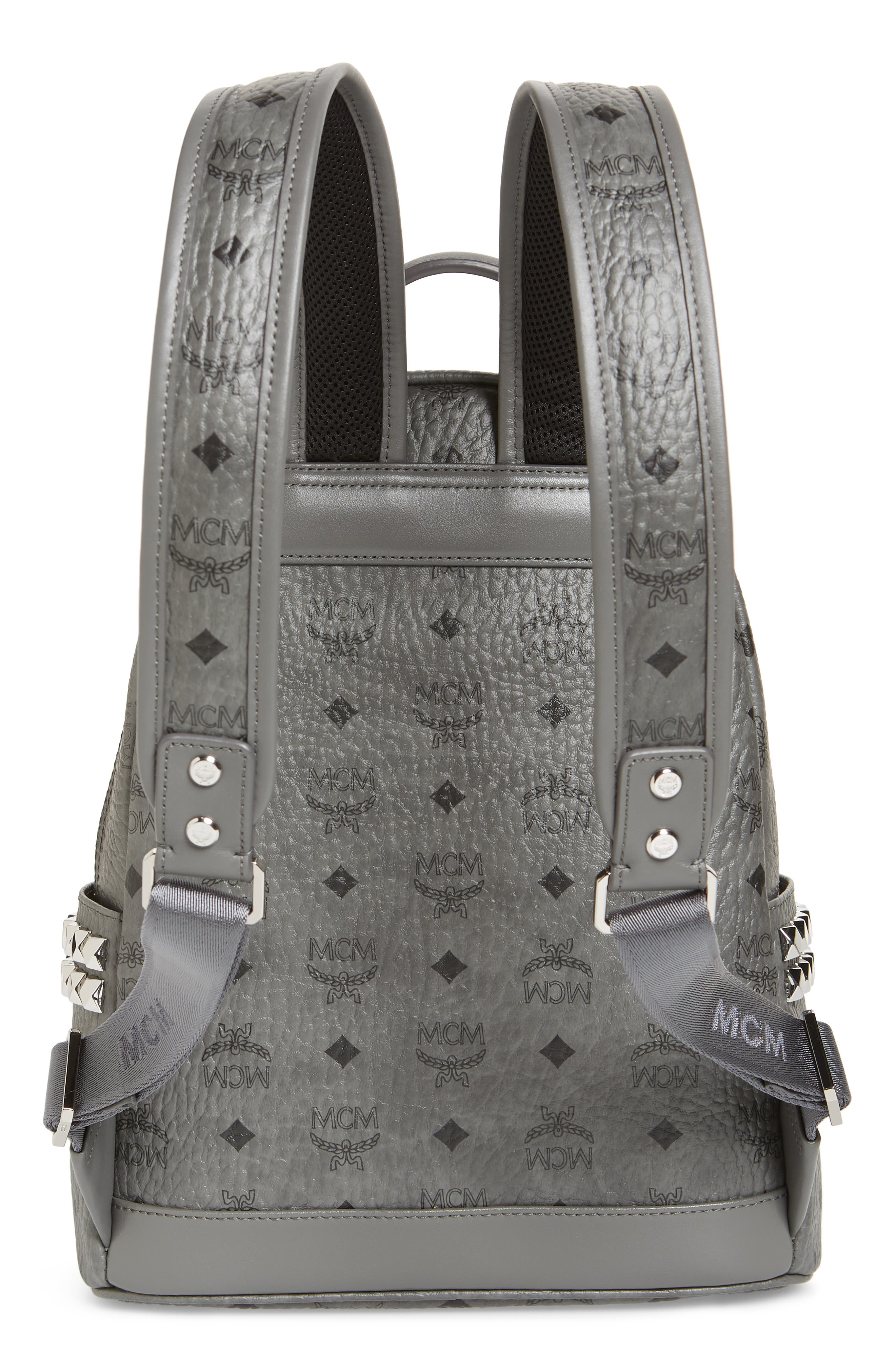 ,                             Small Stark Side Stud Backpack,                             Alternate thumbnail 4, color,                             PHANTOM GREY