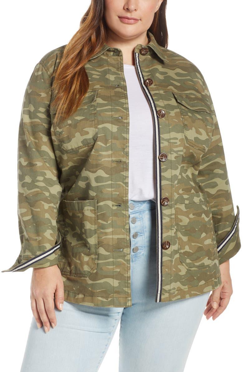 CASLON<SUP>®</SUP> Twill Shirt Jacket, Main, color, 315