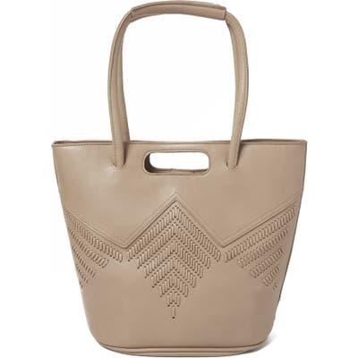 Urban Originals Style Vegan Leather Tote Bag - Beige