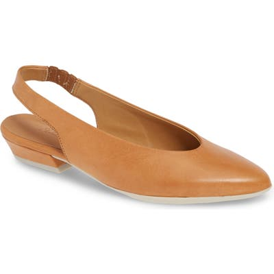 The Flexx Prato Slingback Pump- Brown