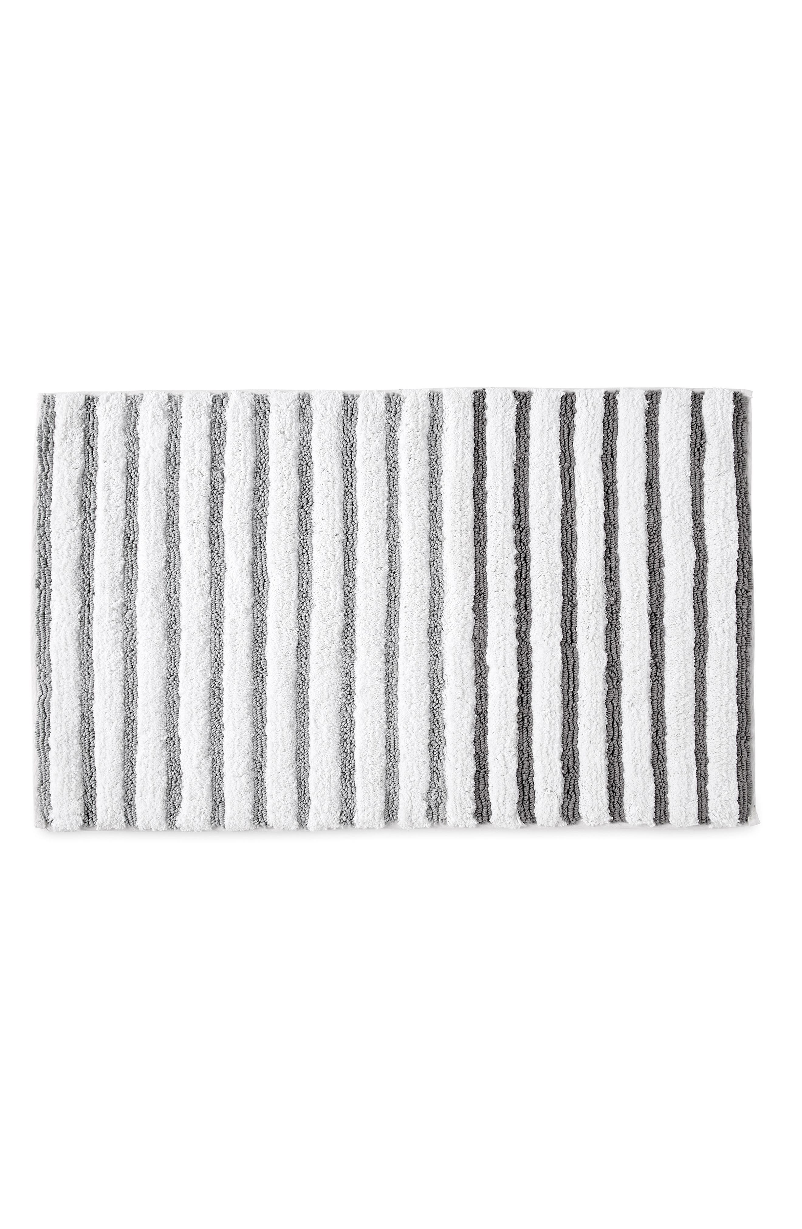 Picture of: Dkny Parson Stripe Bath Rug Nordstrom