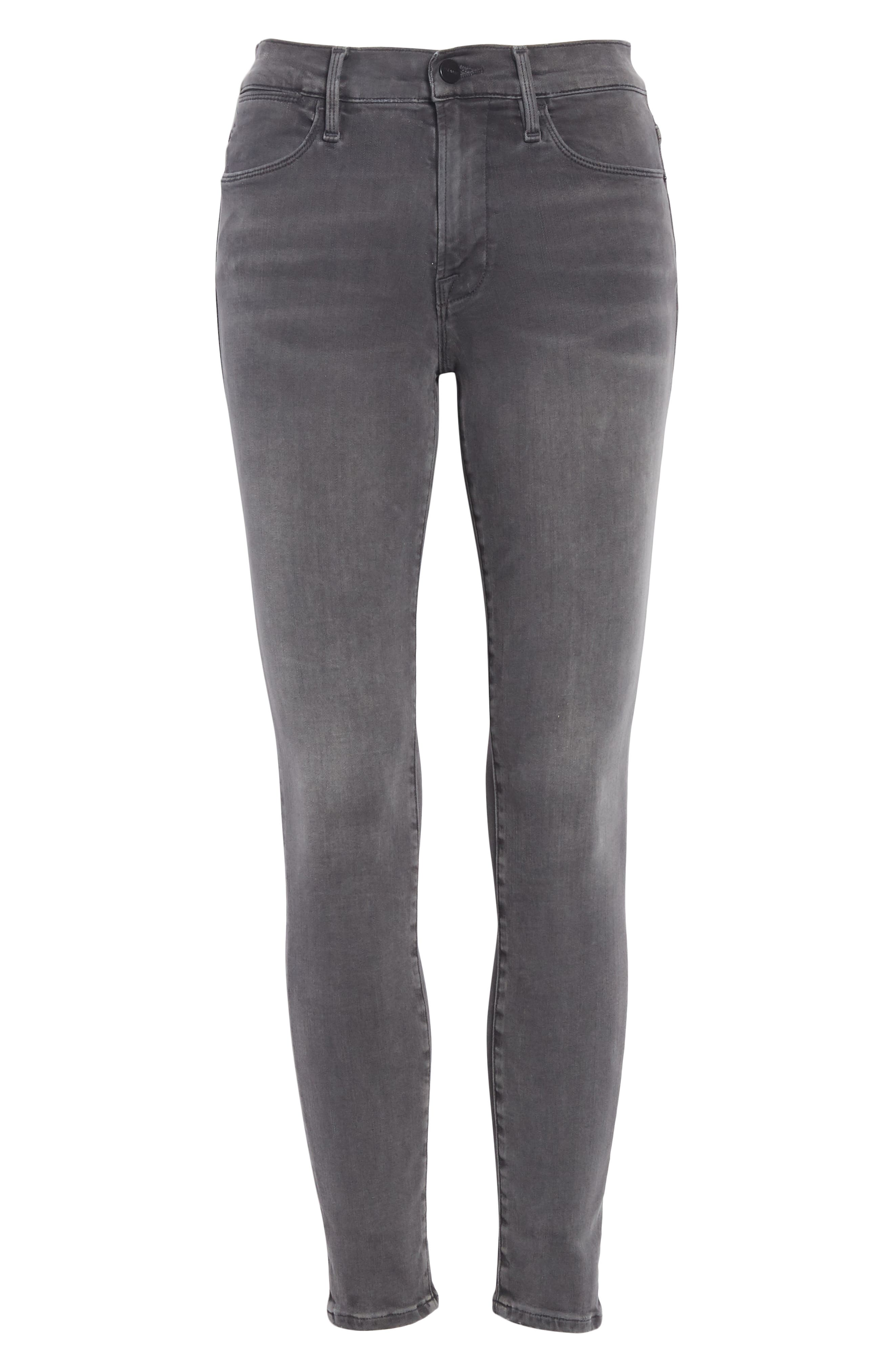 ,                             Le High Ankle Skinny Jeans,                             Alternate thumbnail 13, color,                             022