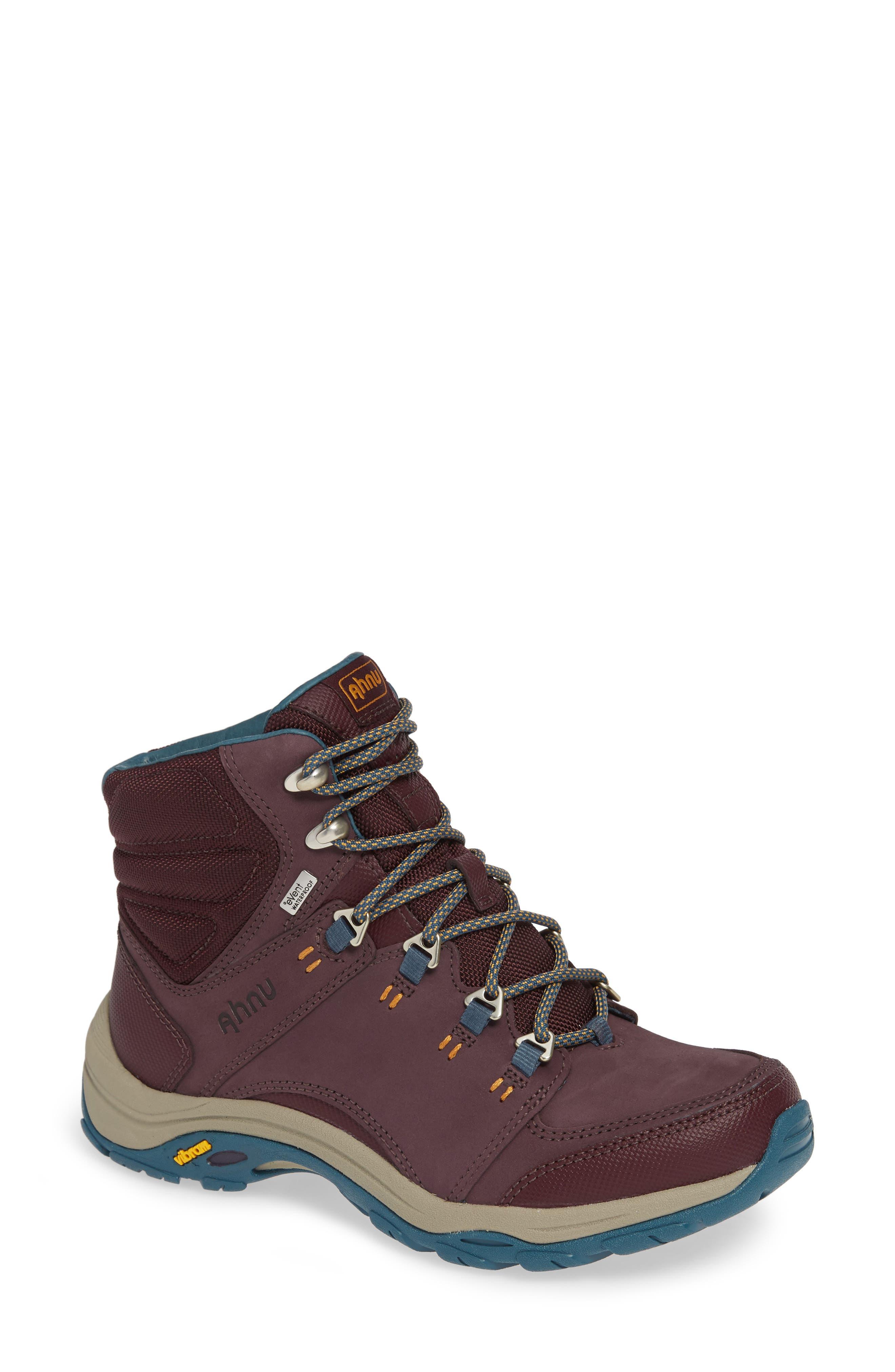 Ahnu By Teva Montara Iii Waterproof Hiking Boot, Purple