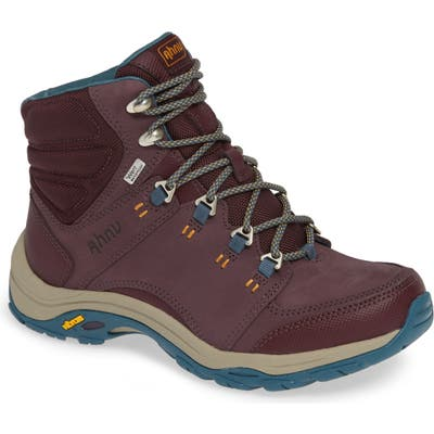 Ahnu By Teva Montara Iii Waterproof Hiking Boot, Purple