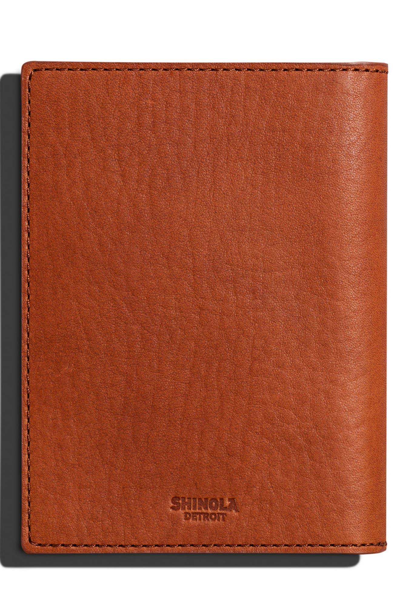 ,                             Leather Passport Wallet,                             Alternate thumbnail 2, color,                             BOURBON