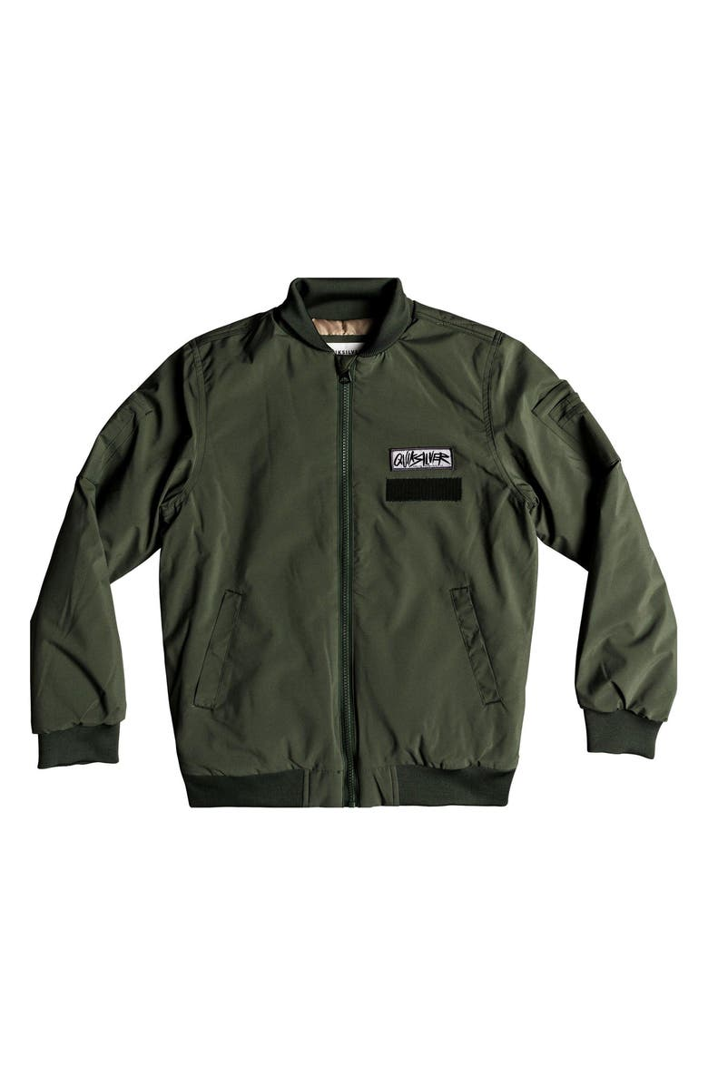 QUIKSILVER Mankai Sun Bomber Jacket, Main, color, 300