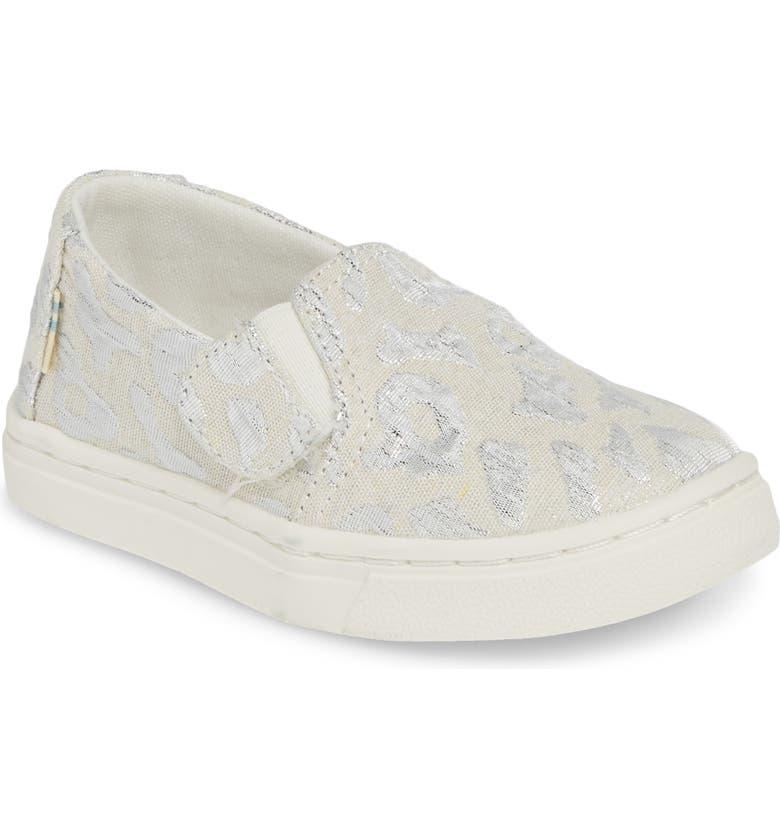 TOMS Luca Slip-On Sneaker, Main, color, SILVER