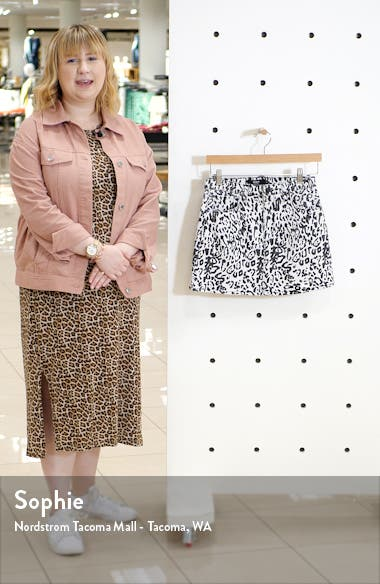 Animal Print Skirt, sales video thumbnail