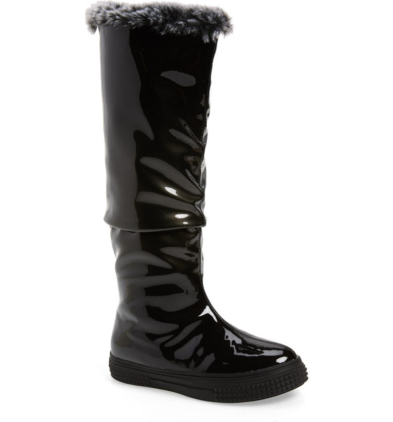 AQUADIVA Icon Faux Fur Lined Waterproof Boot, Main, color, 020