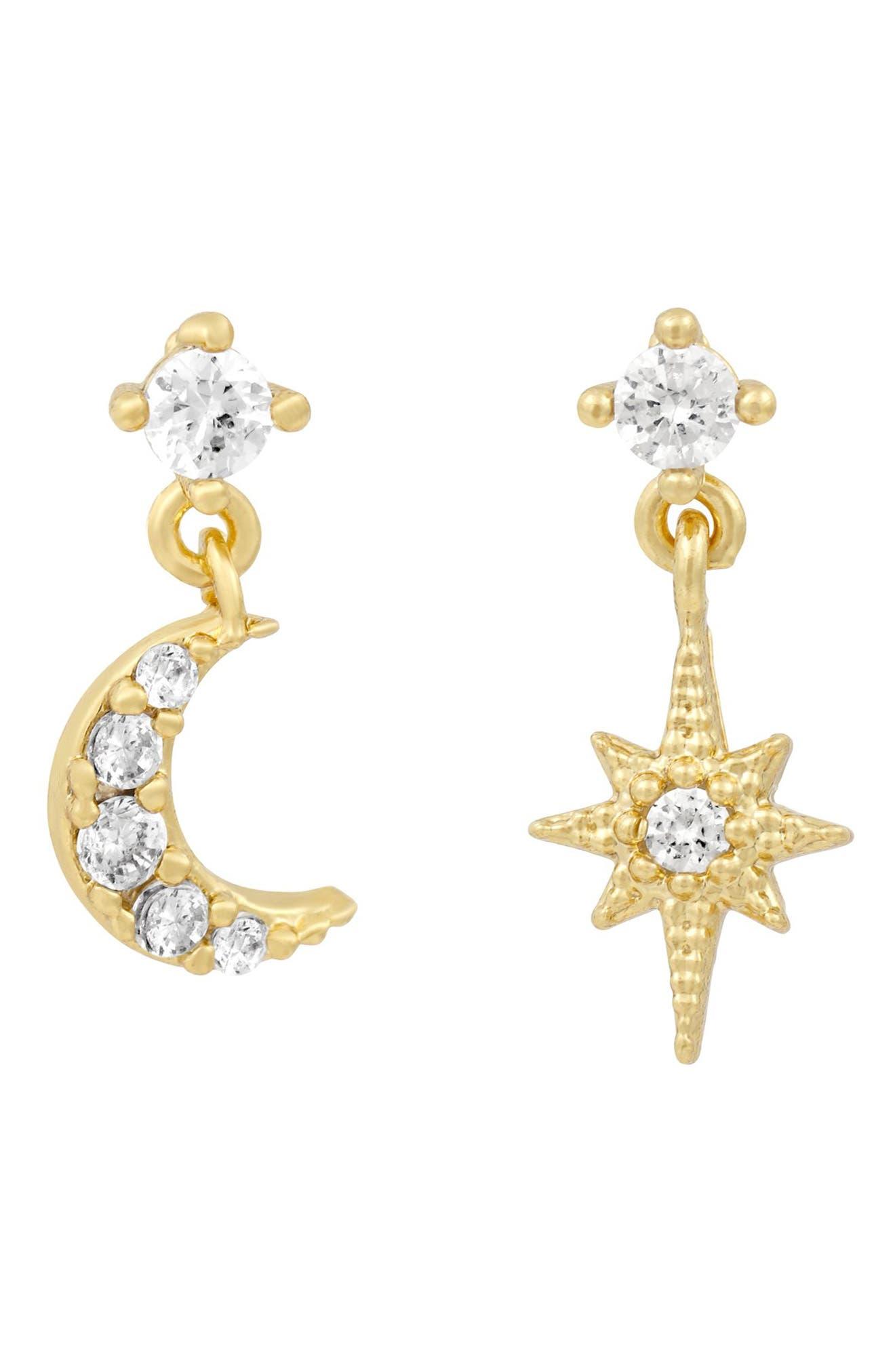 Starry Night Cubic Zirconia Earrings