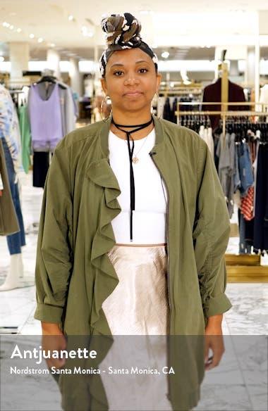 Emery Long Sleeve Sequin Sheath Dress, sales video thumbnail