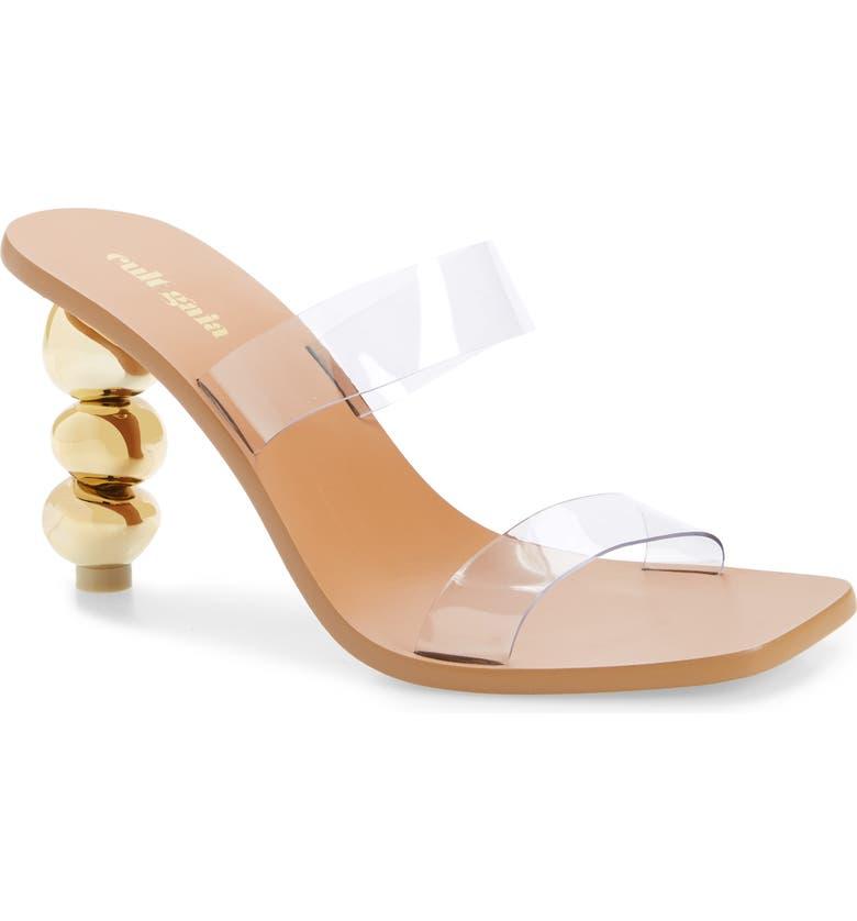 CULT GAIA Meta Slide Sandal, Main, color, GLD GOLD