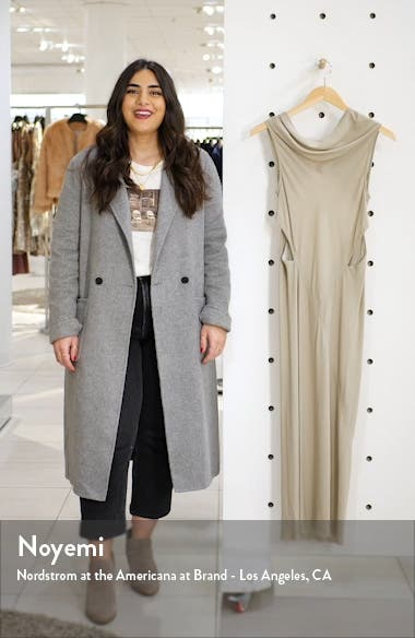 Back Cutout Cady Midi Dress, sales video thumbnail
