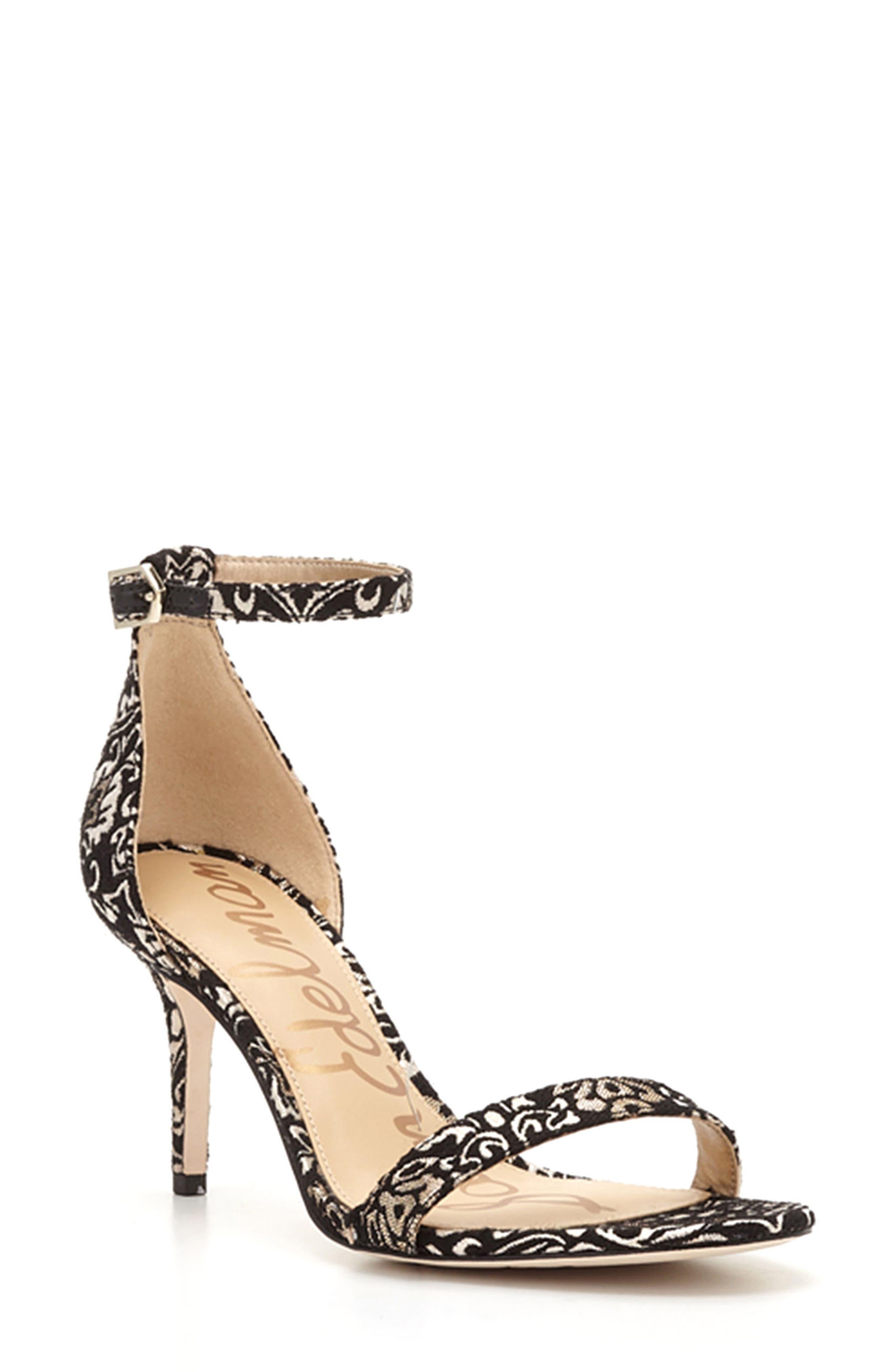 ,                             'Patti' Ankle Strap Sandal,                             Main thumbnail 19, color,                             008