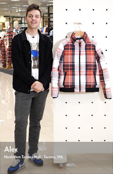 Plaid Puffer Jacket, sales video thumbnail