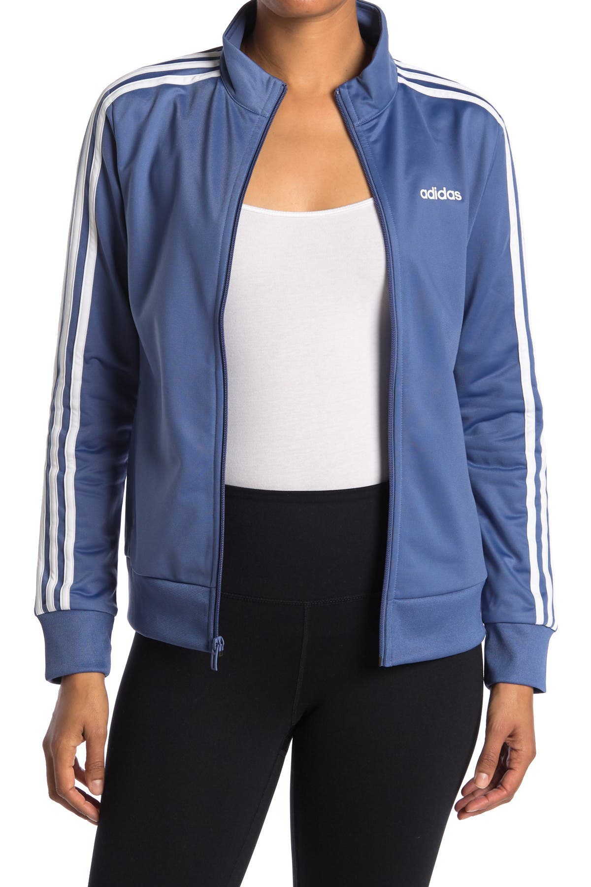 Image of adidas 3-Stripes Tricot Track Jacket