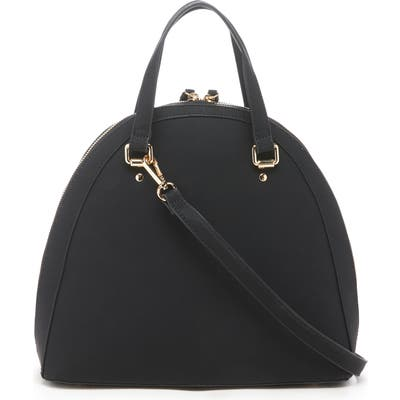 Sole Society Dwani Faux Leather Satchel - Black