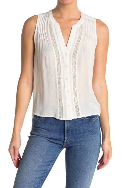 Image of Sanctuary Crafted Shell Blouse