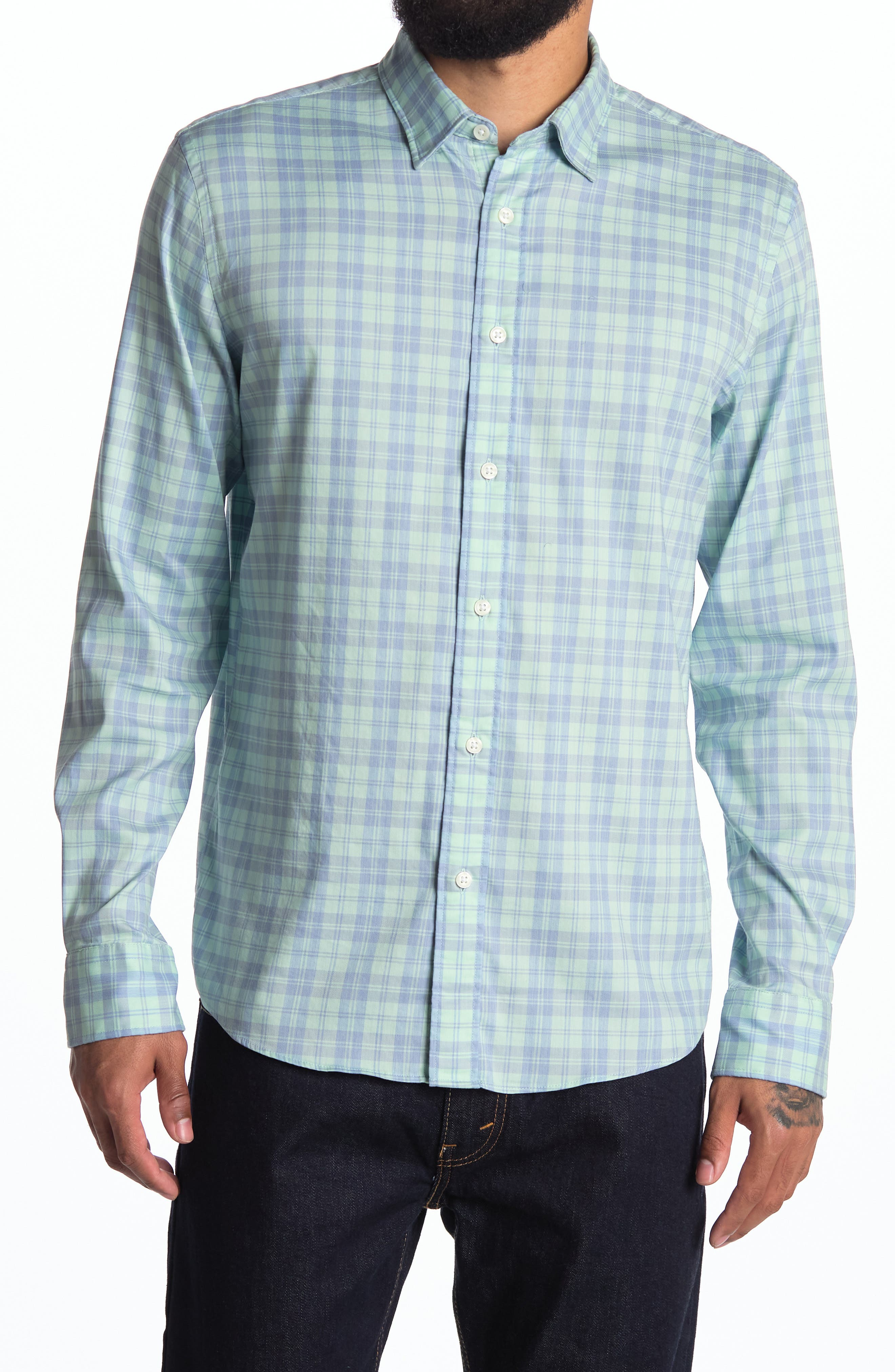 Movement Plaid Button-Up Shirt