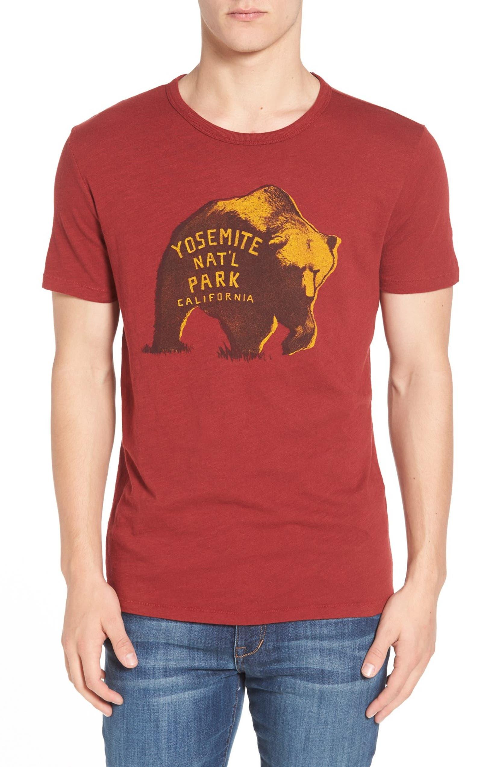 b31e4d838 Lucky Brand 'Yosemite Bear' Graphic T-Shirt | Nordstrom