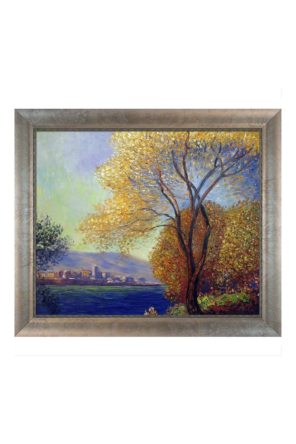 Antibes, View of Salis with Silver Scoop with Swirl Lip Frame, 25\\\