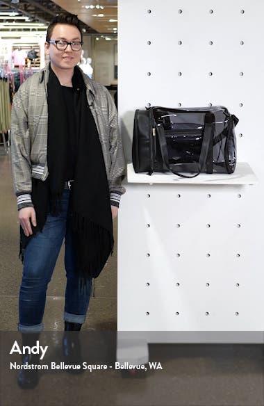 Transparent Gym Duffle Bag, sales video thumbnail