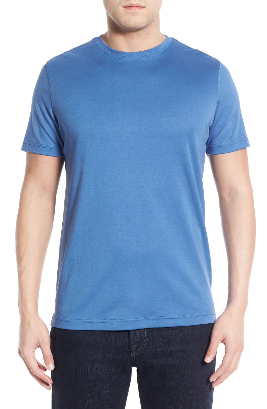,                             Georgia Crewneck T-Shirt,                             Main thumbnail 274, color,                             436