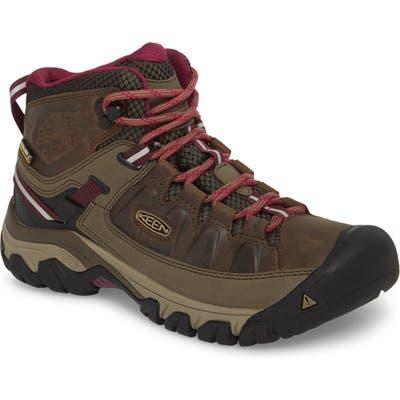 Keen Targhee Iii Mid Waterproof Hiking Boot, Brown