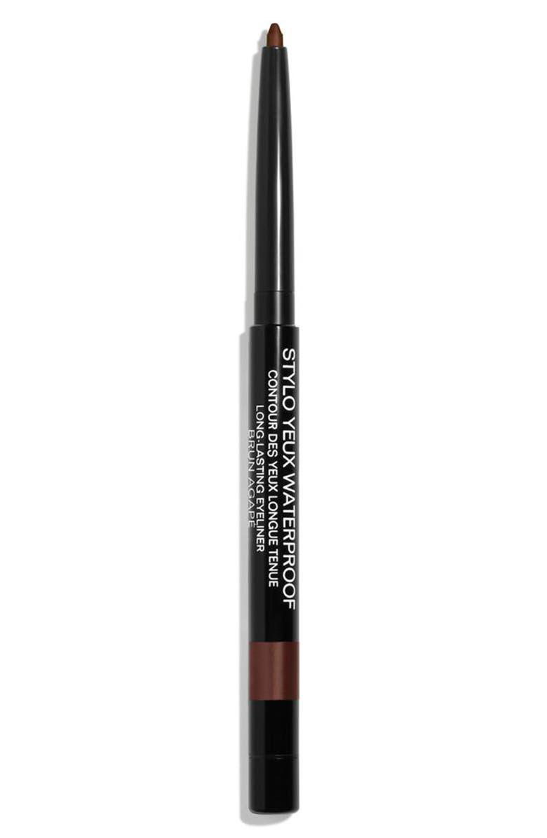 CHANEL STYLO YEUX WATERPROOF <br />Long-Lasting Eyeliner, Main, color, 943 BRUN AGAPE