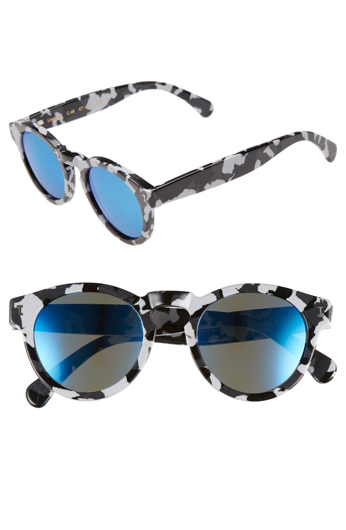 ,                             'Leonard' 47mm Sunglasses,                             Main thumbnail 65, color,                             199