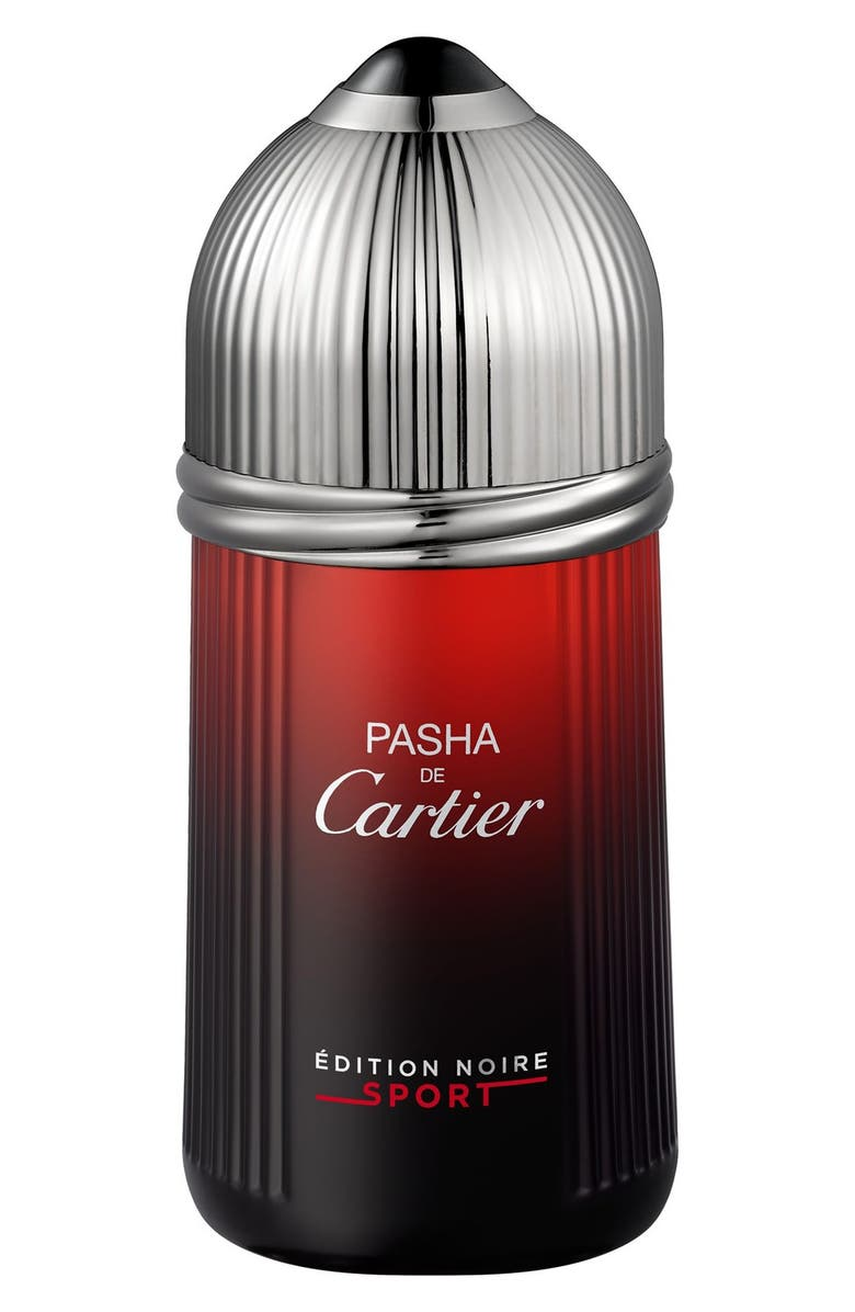 CARTIER 'Pasha Édition Noire Sport' Eau de Toilette, Main, color, NO COLOR