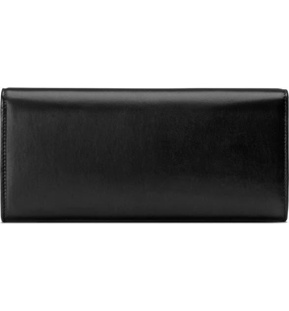 83e3edc94 Gucci Broadway Napa Leather Clutch Bag In Black Multi | ModeSens