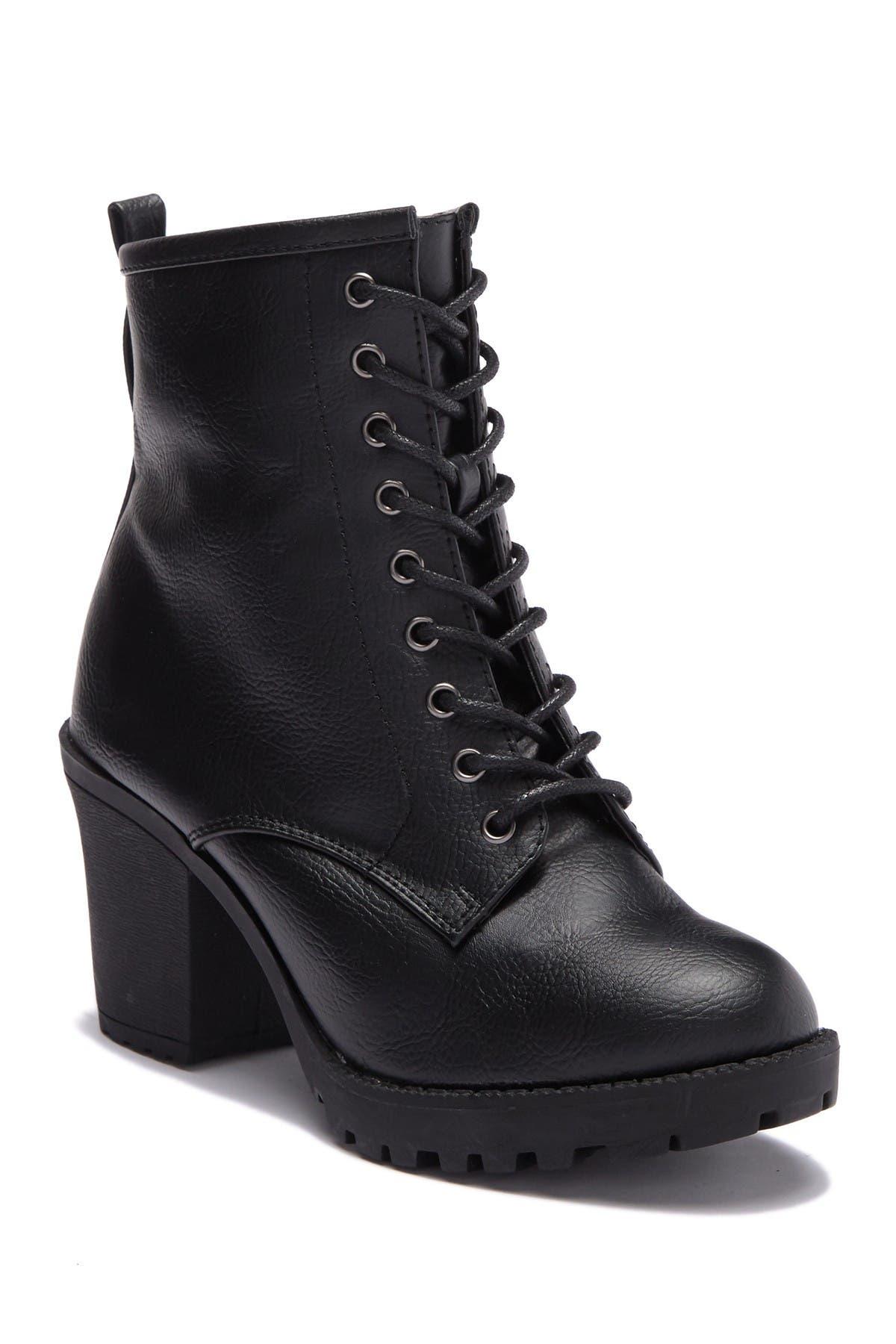 Image of Zigi Soho Kourtlan Lace Up Ankle Boot