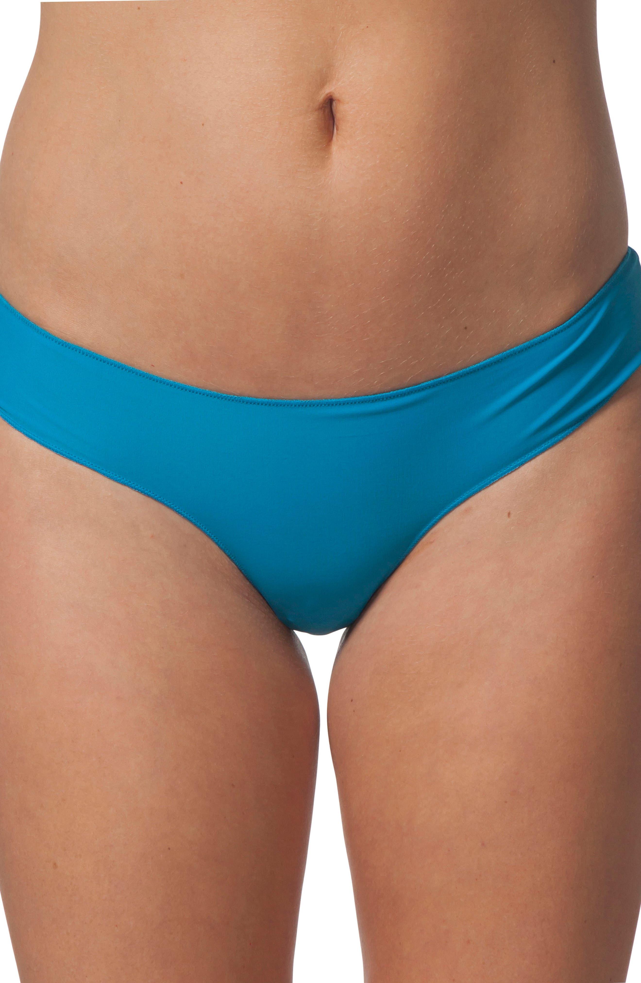 Rip Curl Classic Surf Hipster Bikini Bottom, Blue