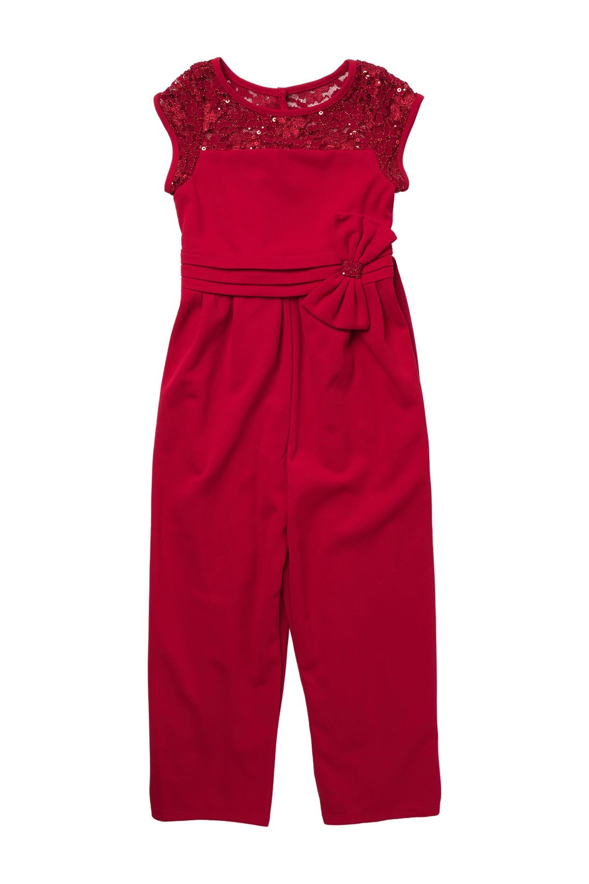 Image of GERSON & GERSON Side Bow Jumpsuit